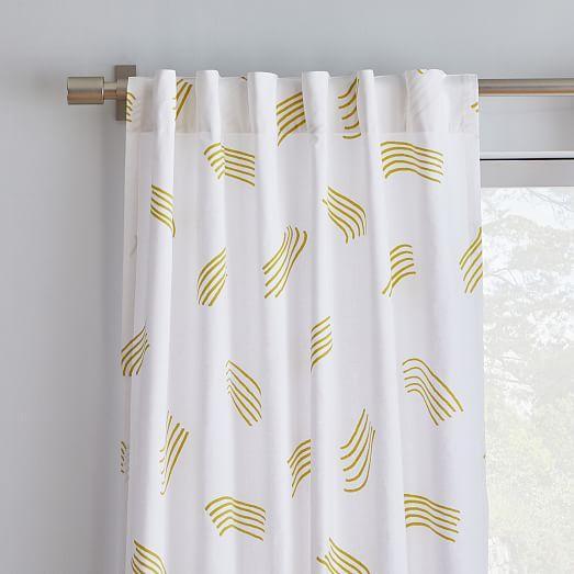 Samuji Shooting Star Curtains Set Of 2 Curtains Curtain Sets