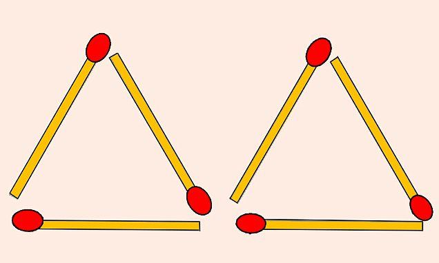 Tricky Brainteaser Involving Six Matches Leaves The Internet