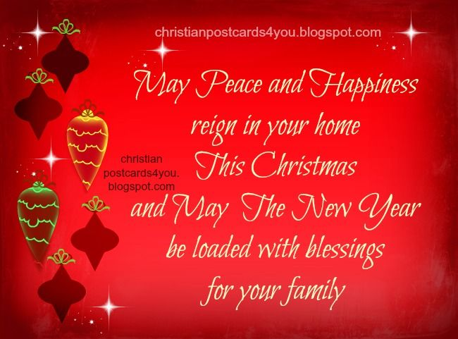holiday card religious sayings christian quotes christmas and new year card free christian images