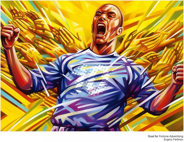 Goal by Evgeny Parfenov