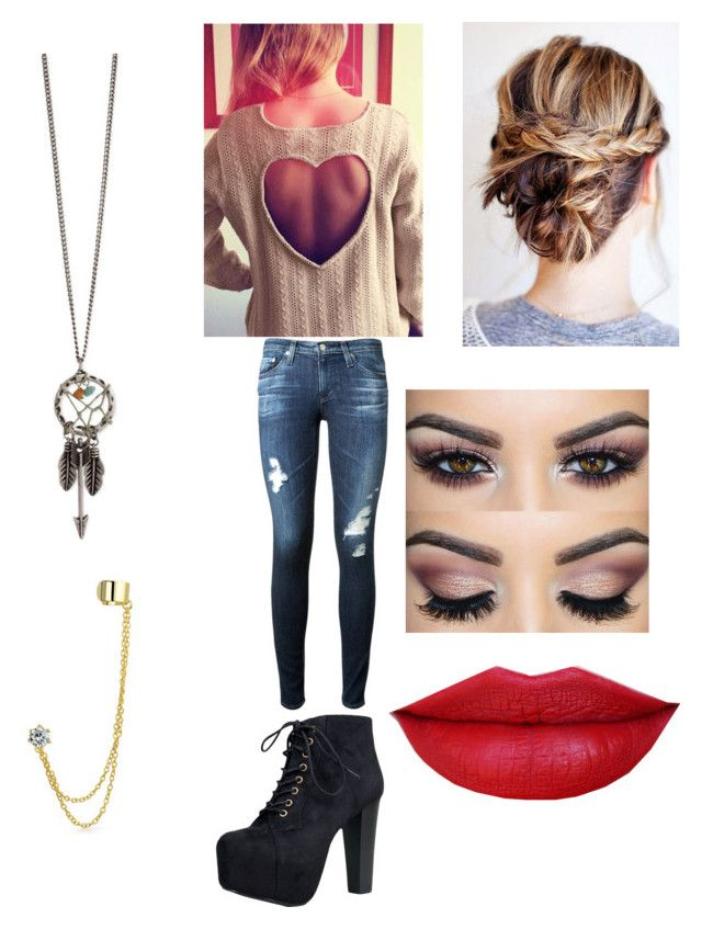 """""""Lovin sweater weather"""" by friends-forever-and-always ❤ liked on Polyvore featuring AG Adriano Goldschmied, Speed Limit 98 and Bling Jewelry"""