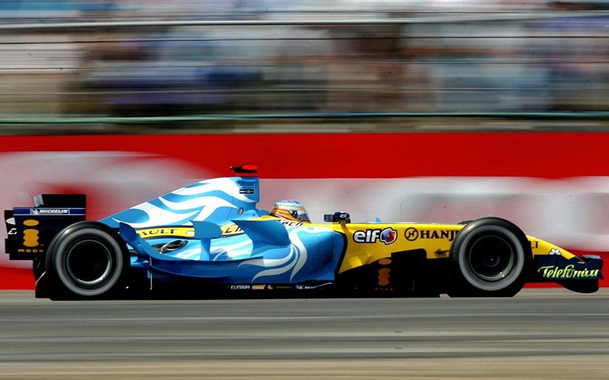 42) 2006, Winner – Fernando Alonso, Team – Renault Alonso, starting from pole, held off both Raikkonen and Schumacher. He won his second wo...