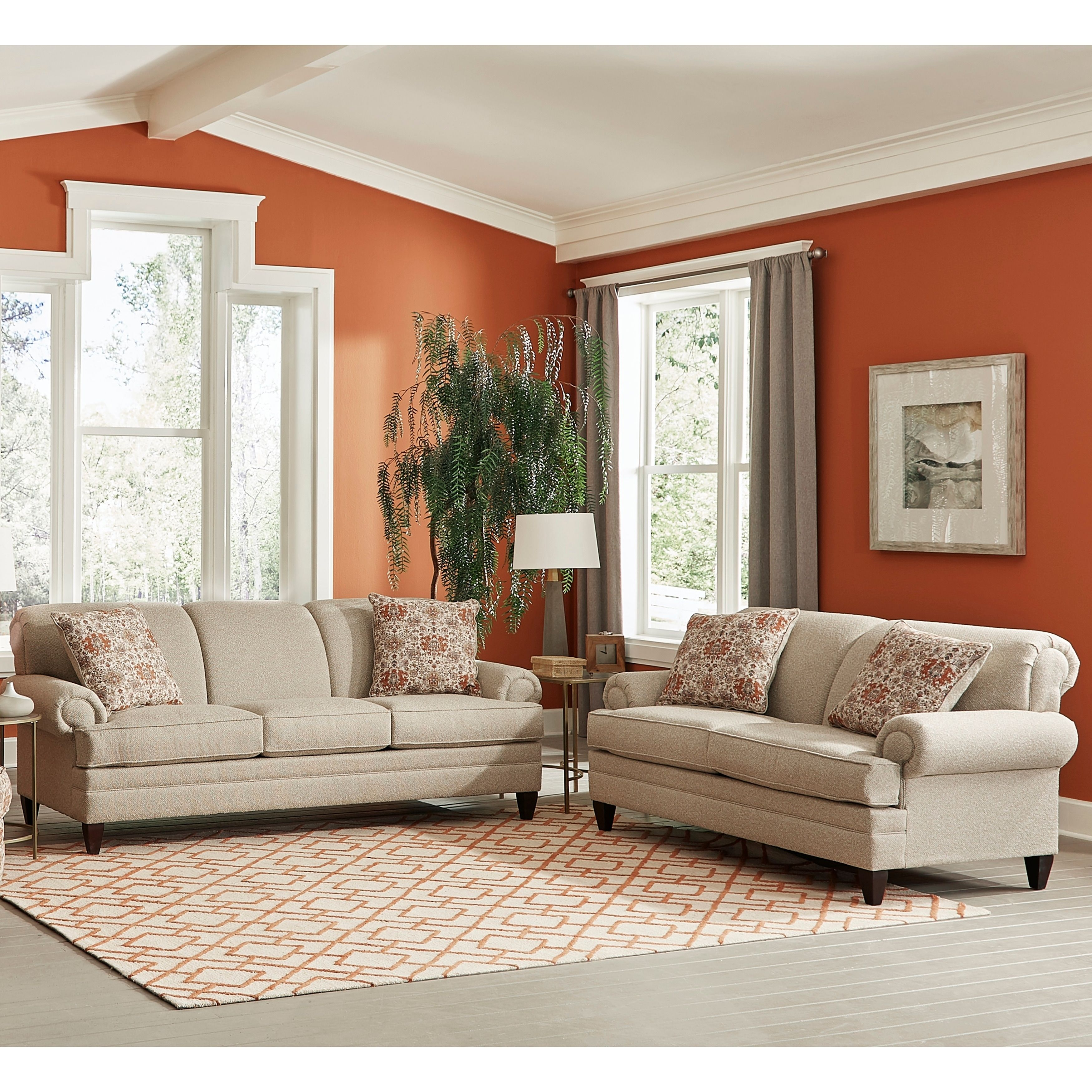 Made In Usa Tilson Beige Fabric Sofa Bed And Loveseat Living Room Sets Beige Fabric Sofa Sofa And Loveseat Set