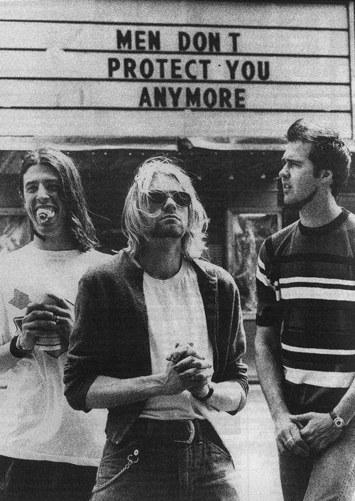 Nirvana, LOVE them. RIP Kurt :'(