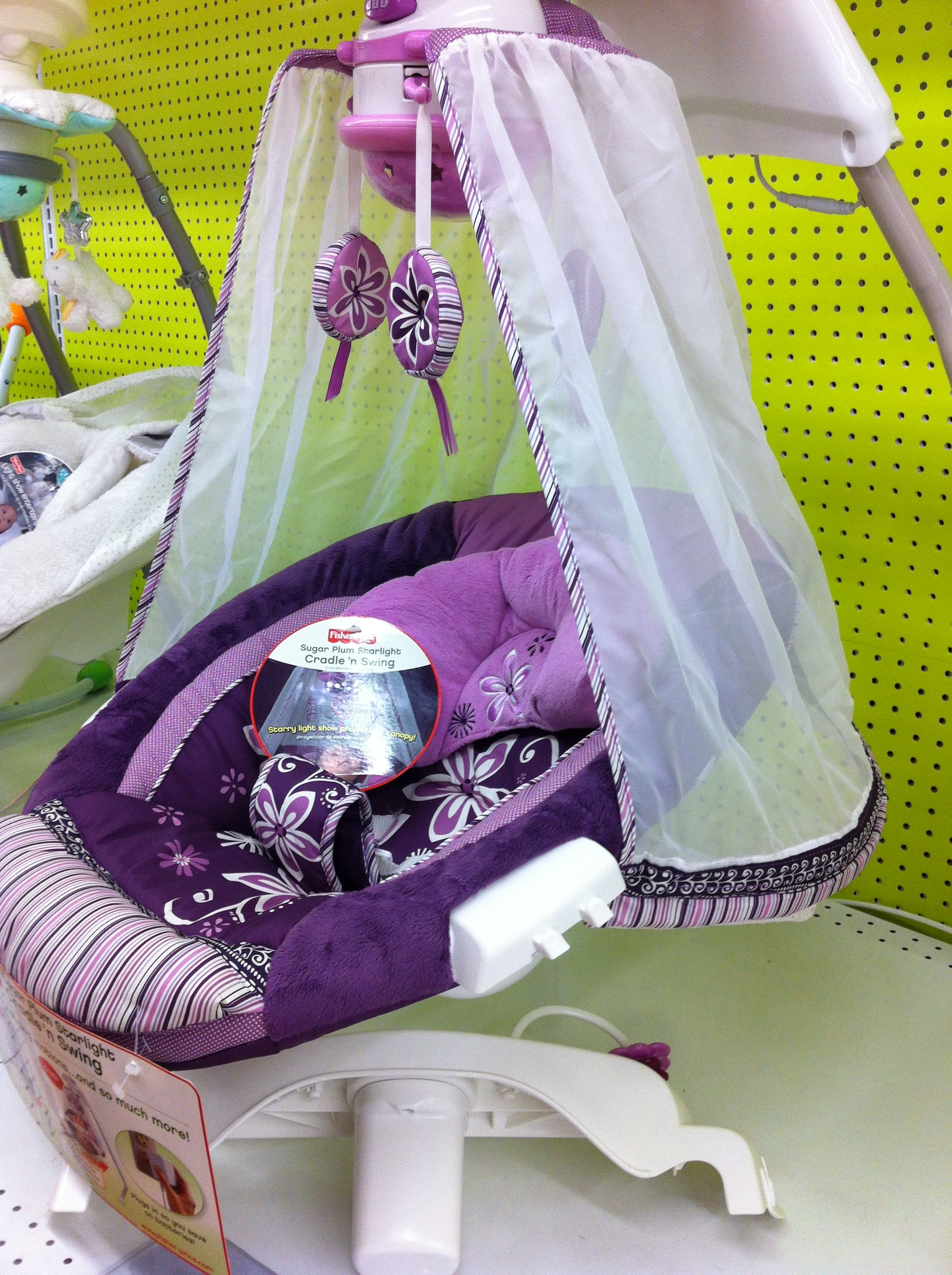 Purple Canopy Baby Swing At Babies R Us The Mommy Life