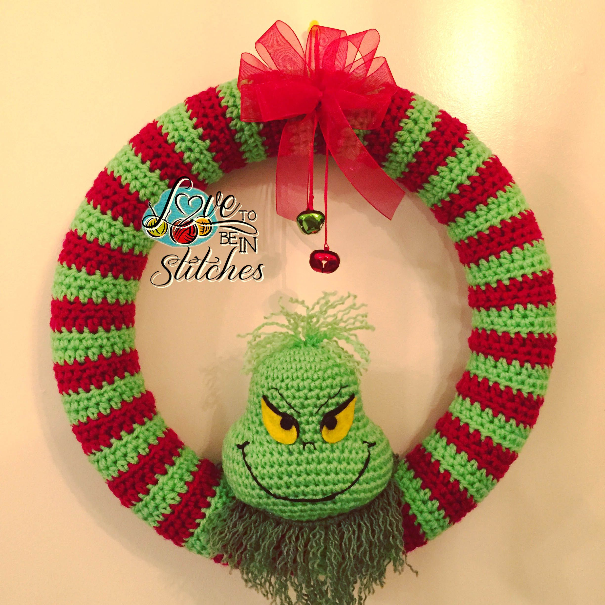 Grinch Wreath | Häkeln