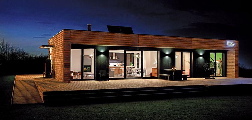maison ossature bois archi design deco maison. Black Bedroom Furniture Sets. Home Design Ideas