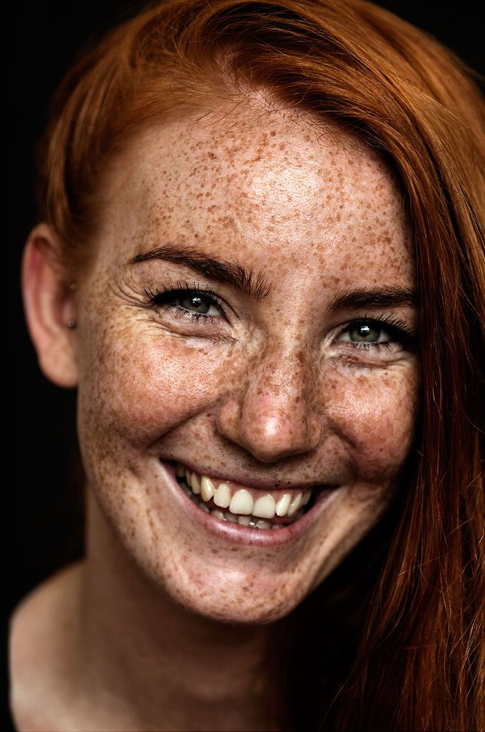 stunning girls with freckles porn
