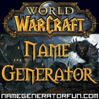 Generador De Nombres Wow