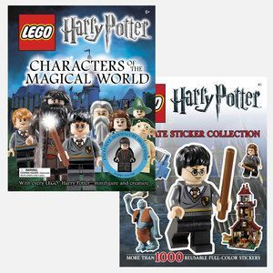 My son loves all things Lego & Harry Potter !