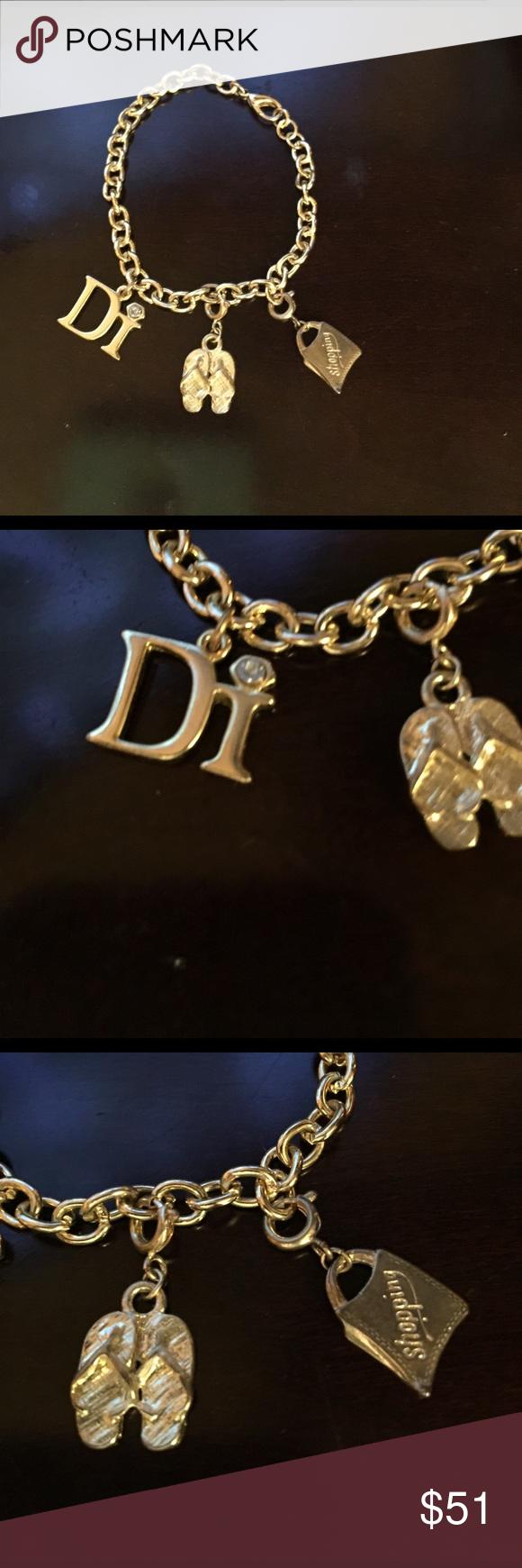 Christian Dior charm bracelet Christian Dior bracelet Christian Dior Jewelry Bracelets