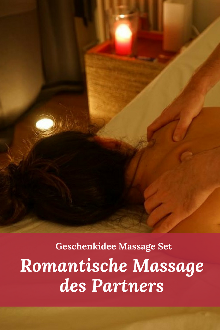 Romantische Massage