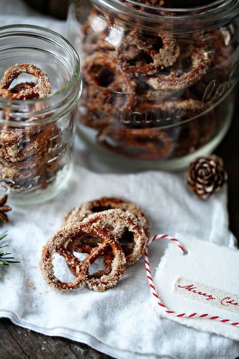 Zucker, Zimt plus Brezeln = Weihnachtliche gebrannte Zuckerzimtbrezn: Eine Müncheninspirierte Post aus meiner Küche