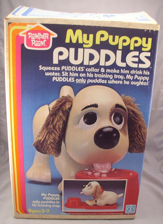 My Puppy Puddles By Romper Room Hasbro A Peeing Dog Toy Not