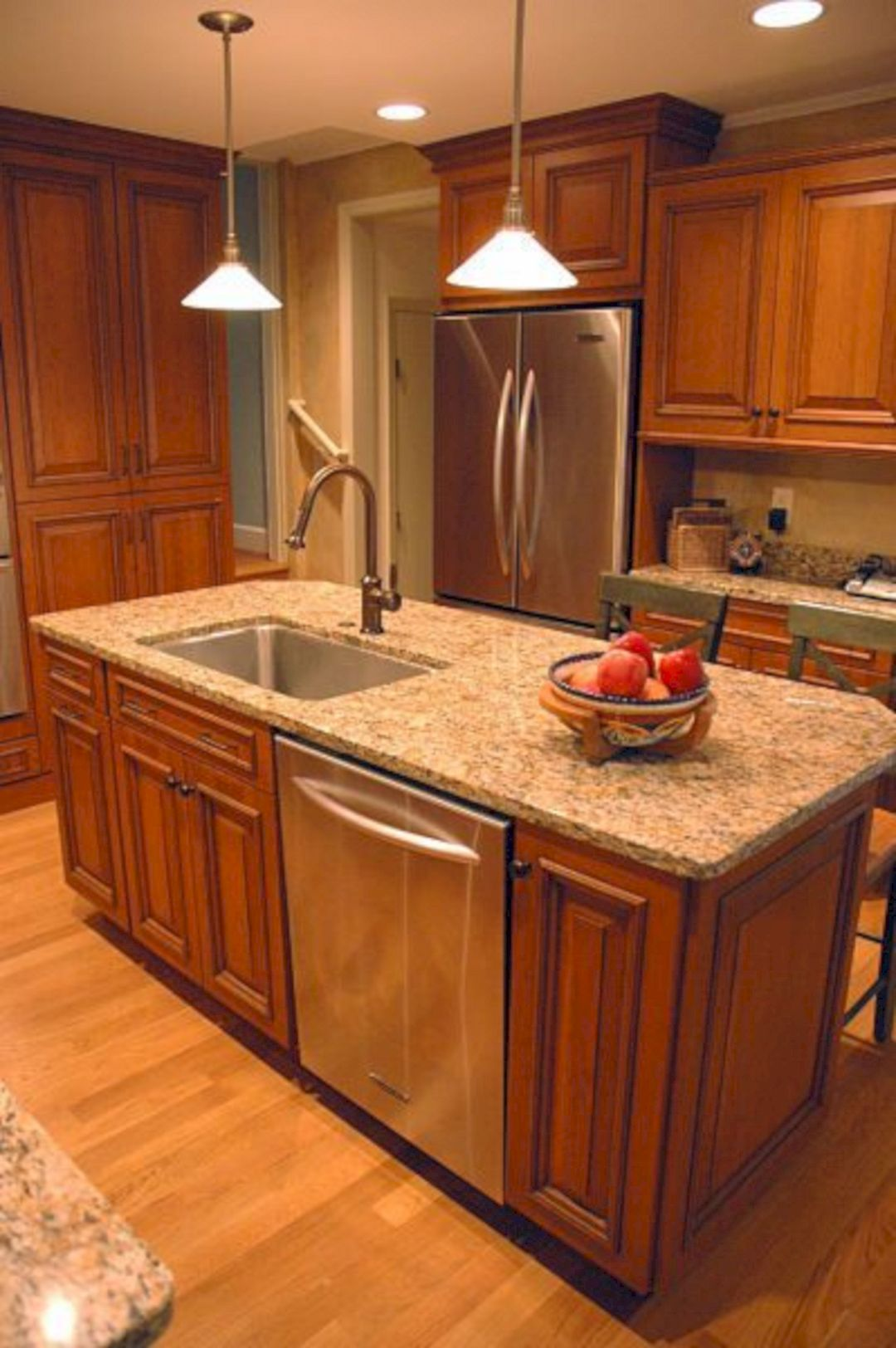 Small Kitchen Island with Sink – DECOREDO   Kitchen remodel small ...