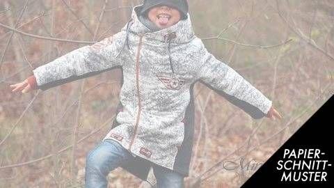 Jacke Lyri - Nähanleitung und Schnittmuster | Pinterest | Jacken ...