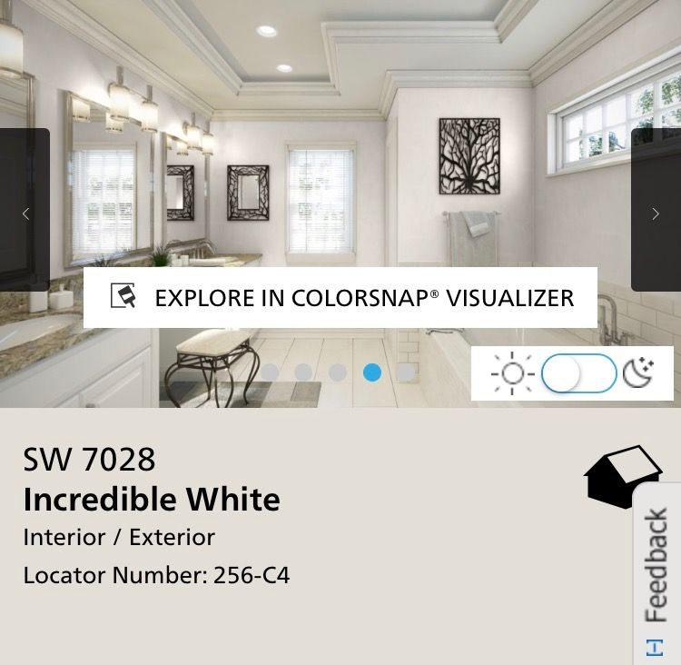 incredible white kitchen | Incredible White - Sherwin Williams in 2019 | White ...