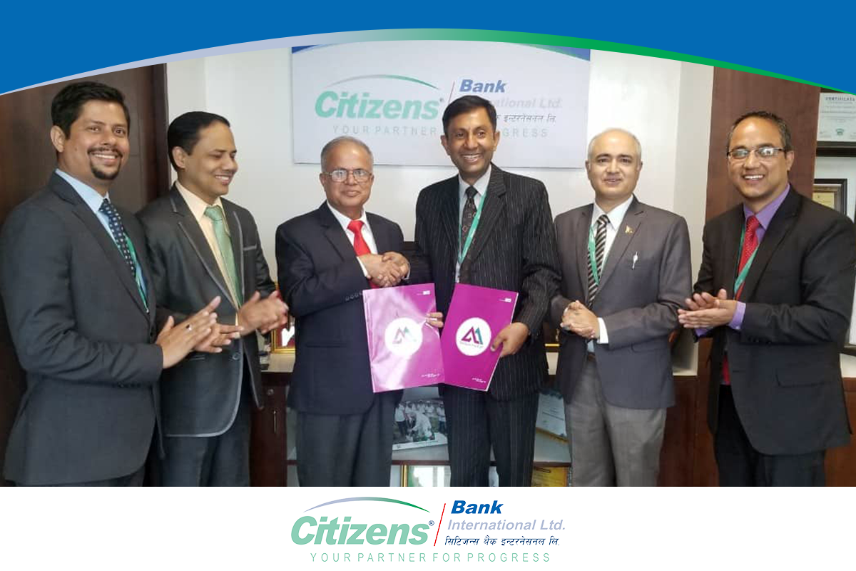 Citizens Bank International Limited Has Signed An Agreement With