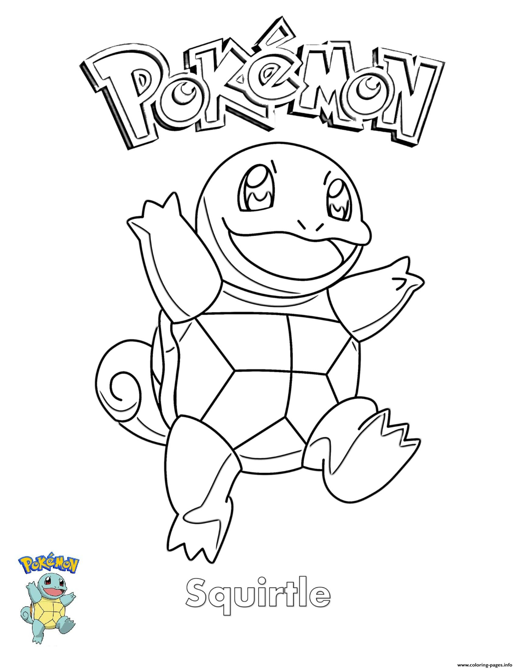 Pokemon Coloring Page Squirtle Youngandtae Com Coloring Pages For Kids Pokemon Coloring Cool Coloring Pages
