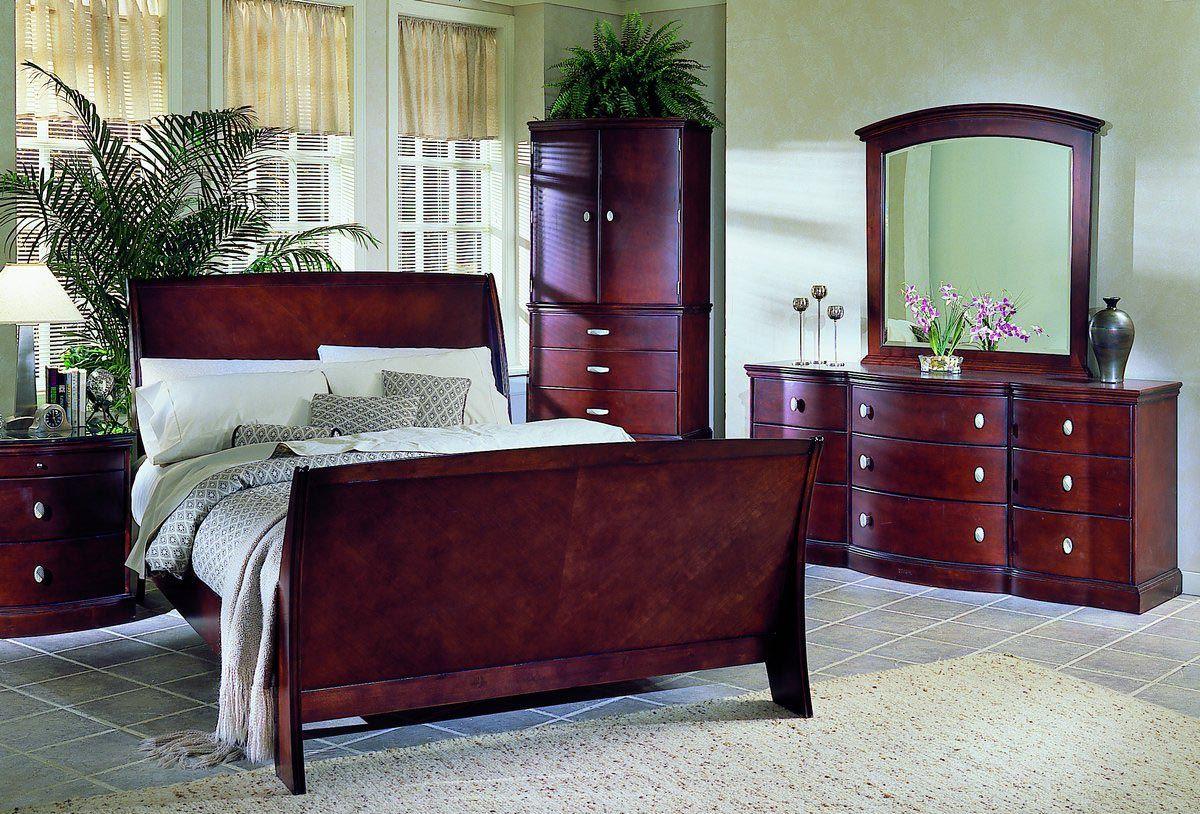 Cherry Wood Bedroom Furniture  Wood furniture bedroom decor