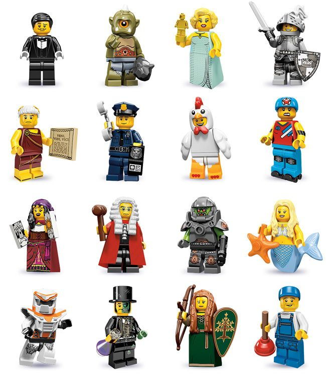 New LEGO Series 18 Minifigure Blind Bag 71021 Random Figure Sealed Blind Bag