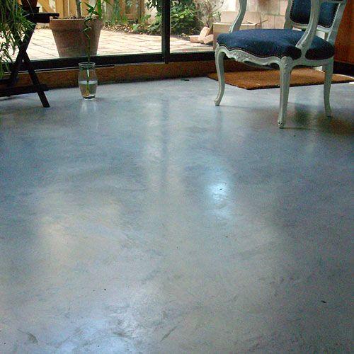 Sol en béton - Concrete floor Sol en béton Pinterest Beton - Faire Une Terrasse En Beton Cire