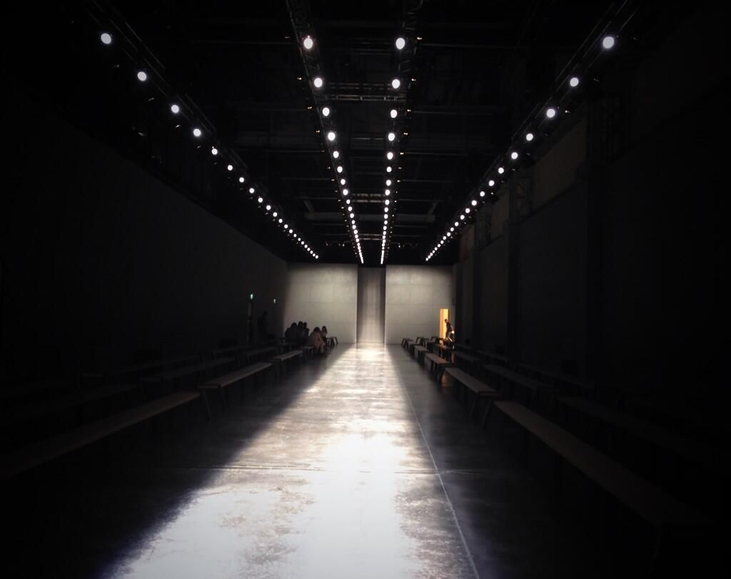 Set design at Fendi Spring-Summer 2015 Men Fashion Show #MFW #RTW #SS15 #Fendi #LVMH via twitter.com/Fendi