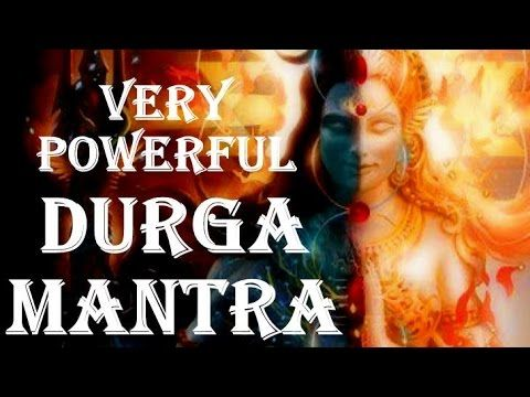 WARNING !! DURGA MAHA MANTRA : VERY POWERFUL MANTRA FOR