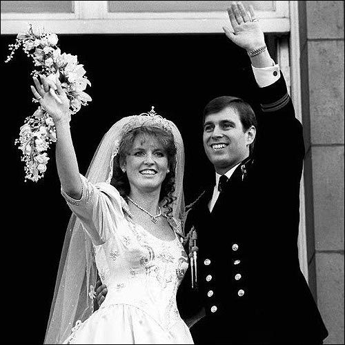 Prince Andrew And Sarah Ferguson Were Given The Titles
