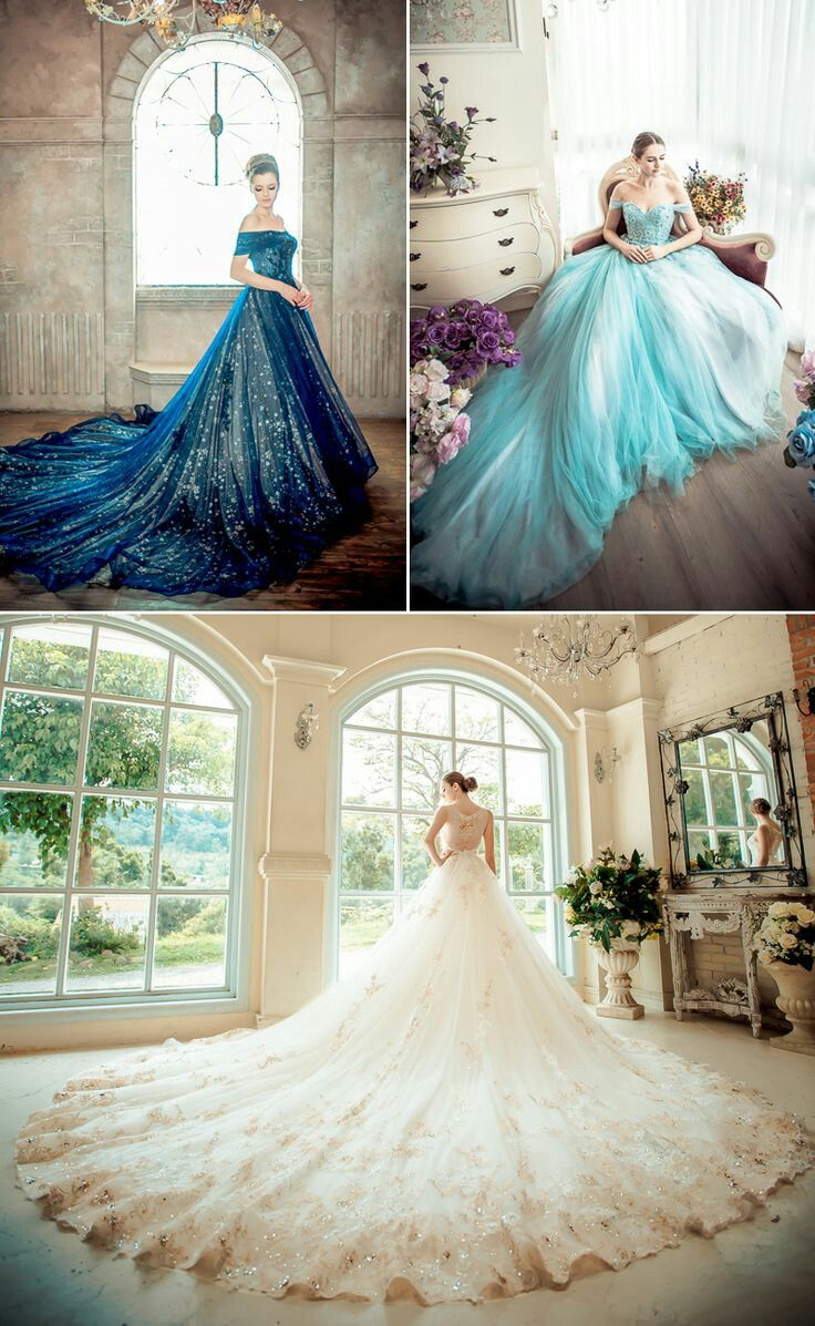 Fluffy wedding dresses  Wedding Dress  Purple u Teal Wedding  Pinterest  Wedding dress