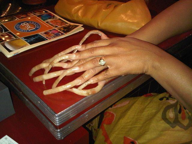 Very Long Nails | omg | Long nails, Curved nails, Long ... - photo#27