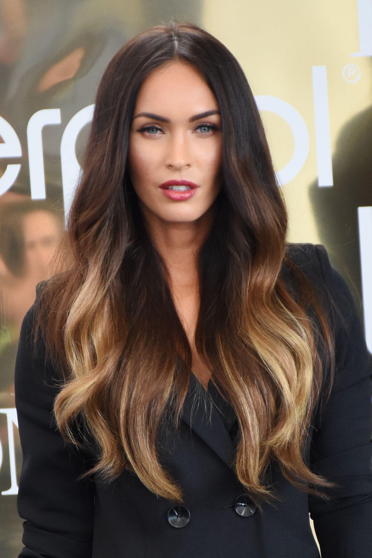 Megan Fox   Megan Fox Hair, Brown Hair With Blonde -3261