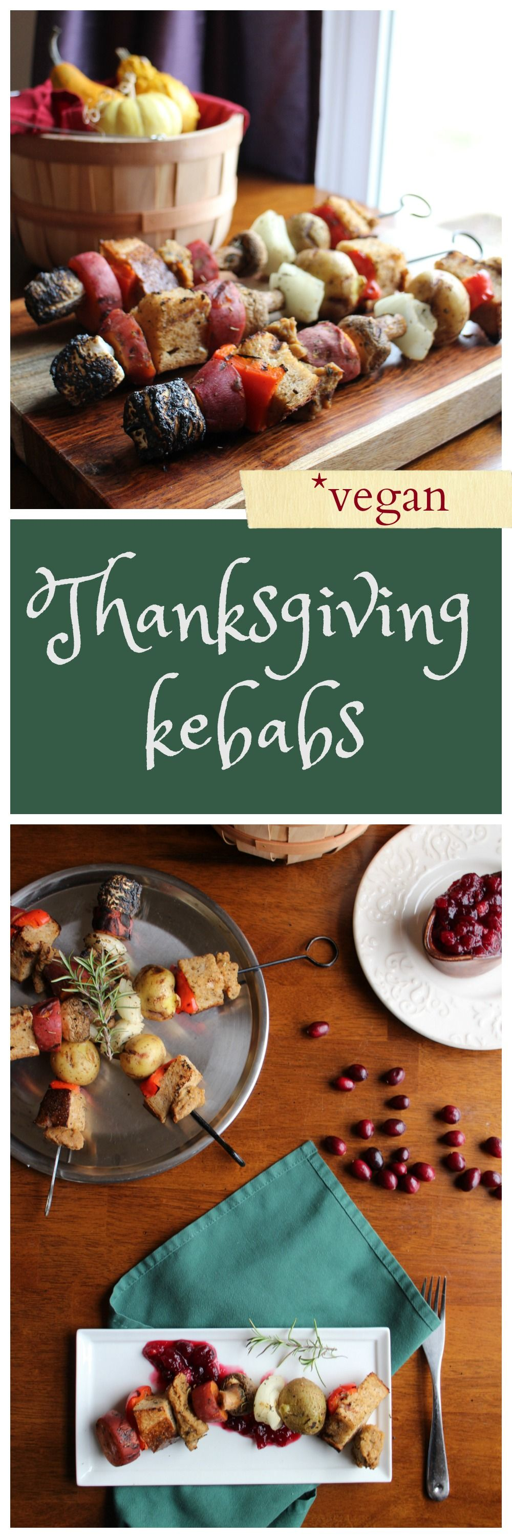 Deconstructed Thanksgiving Kebabs