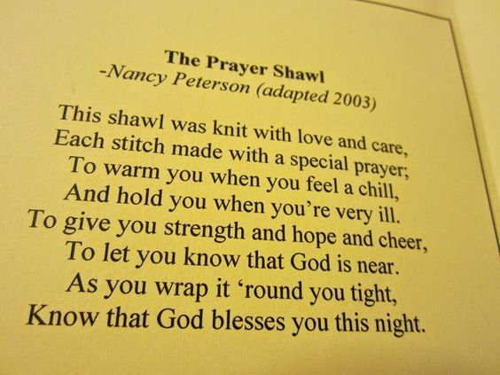 crochet prayer cloth poem card - Google Search | Crafts ...