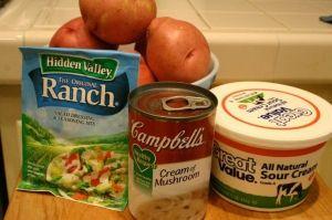 Ranch Crock Pot Potatoes. by clauia