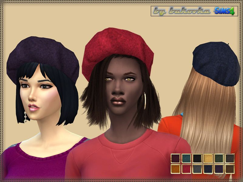 Felt hat for autumn days  Install a separate slot  New mesh  12