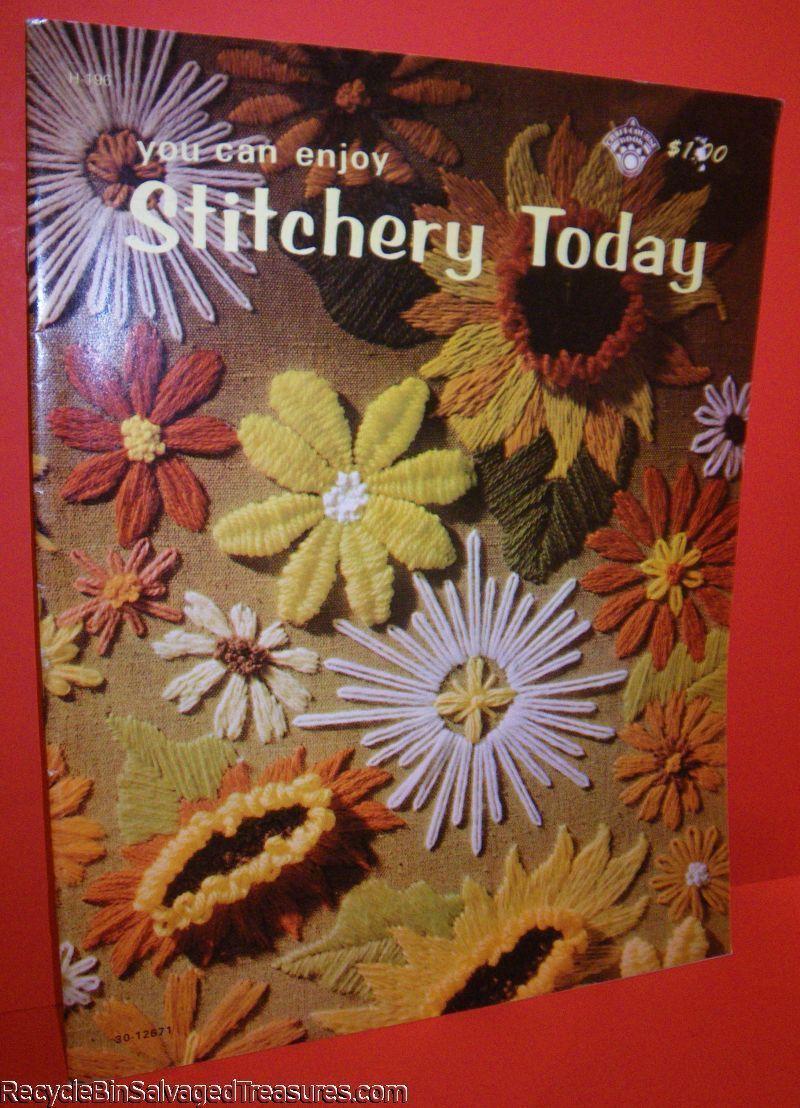 1970s Stitchery Patterns Crewel Crafting Vintage Needlework