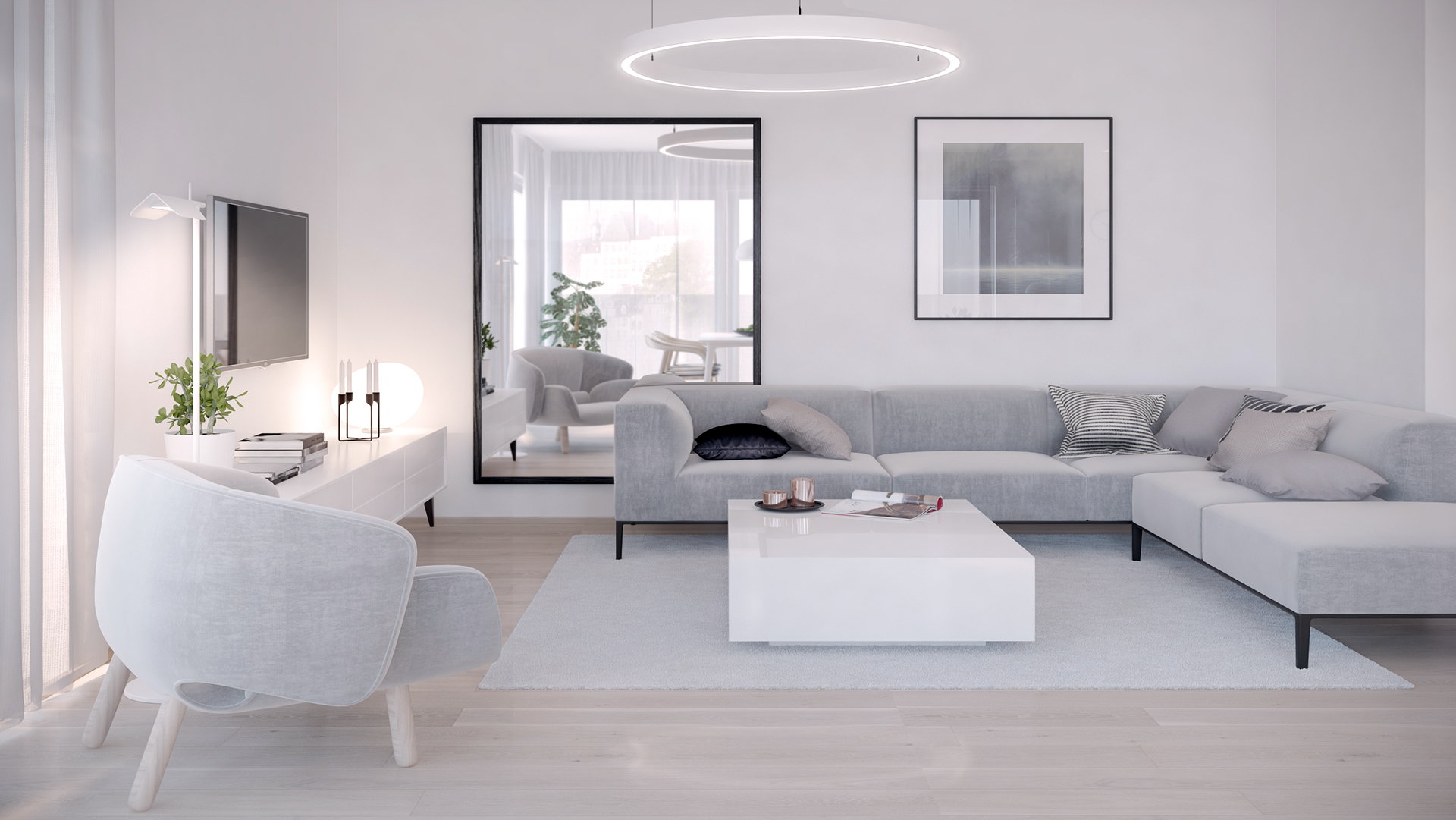 HOW TO CREATE A SLEEK YET PRACTICAL MODERN MINIMALIST LIVING ROOM...