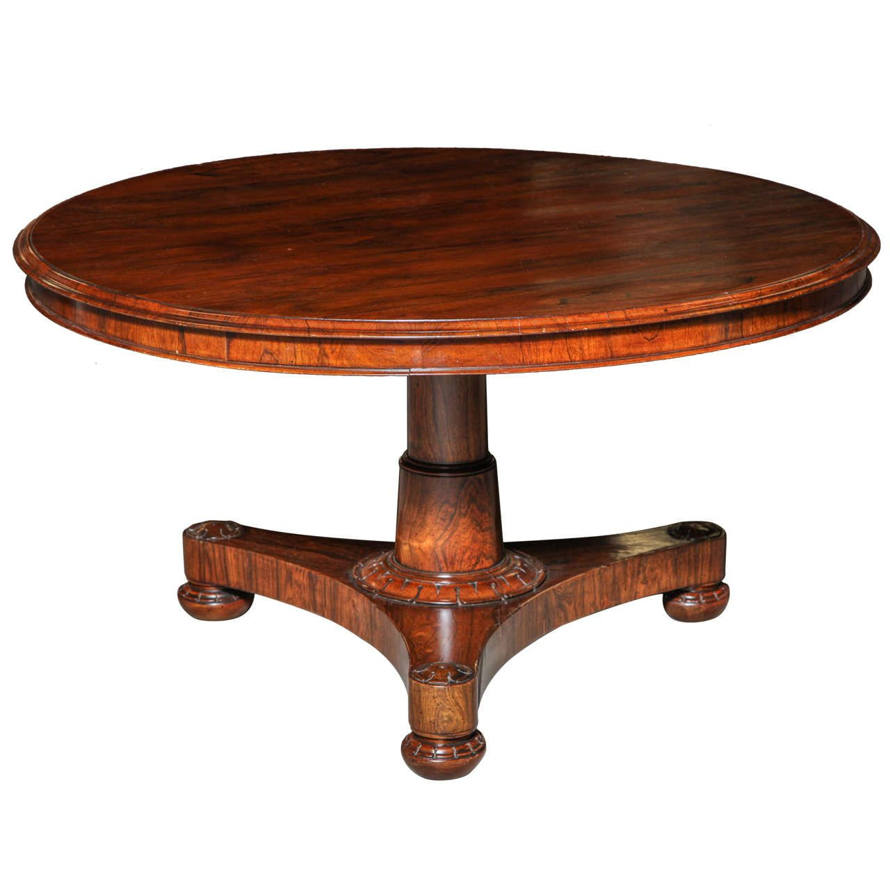 Spectacular 19th Century Regency Mahogany Tilt Top Table From A Unique Collection Of Antique And Modern Tables At Https Www 1stdibs Com Furn Furniture Table
