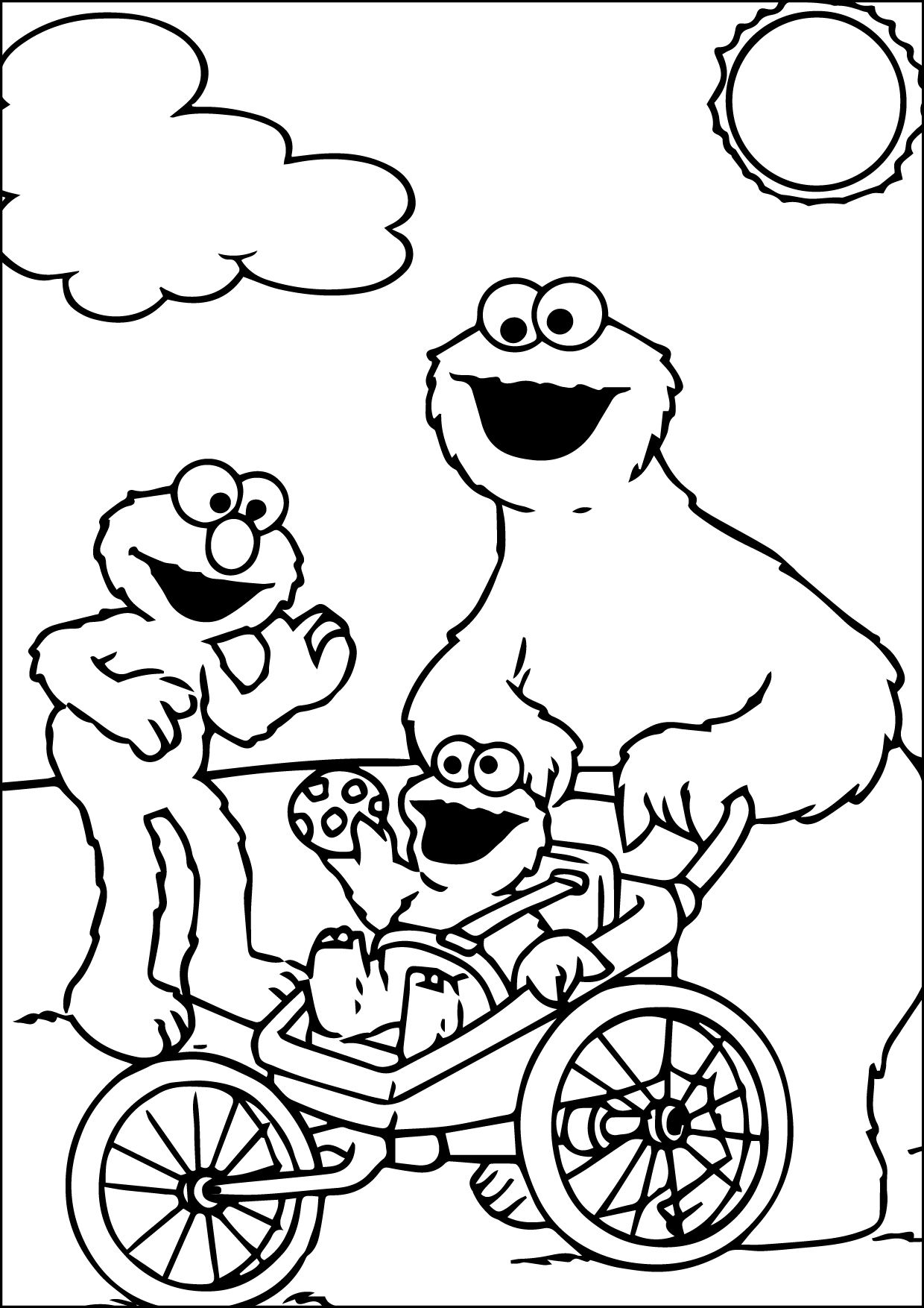 awesome coloring page 06102015_033812 Monster coloring