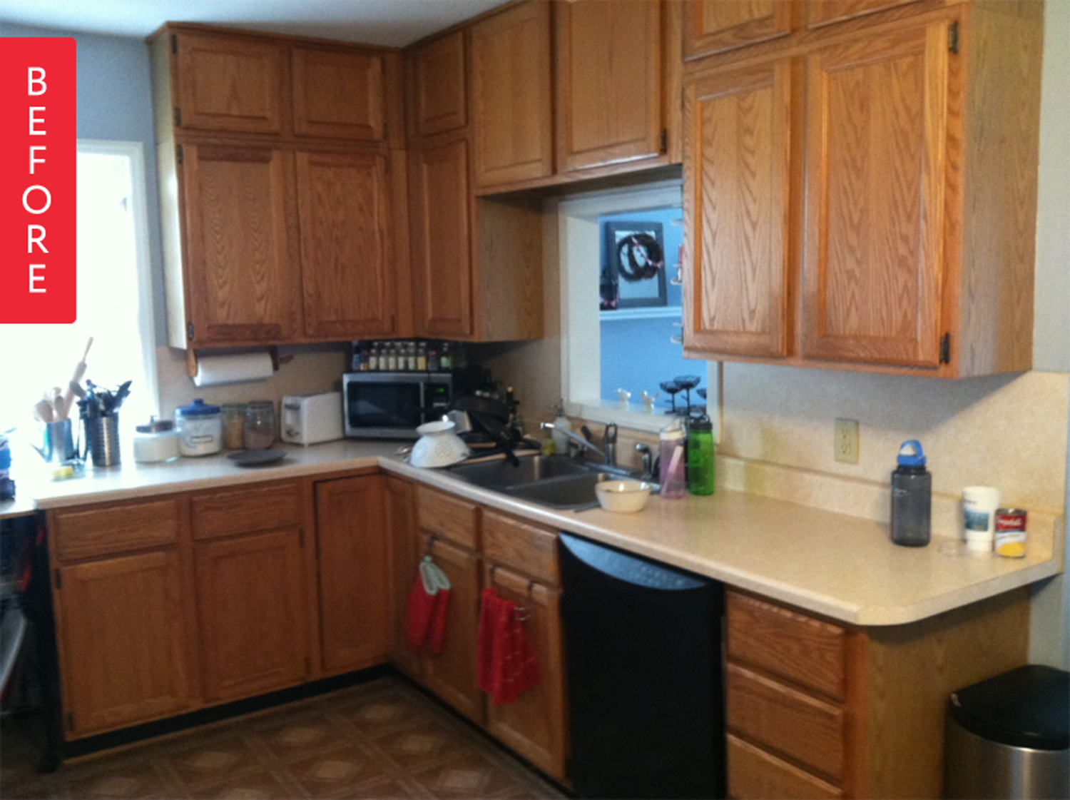 Kitchen Ideas Before And After.Before After A Fresh Kitchen Makeover For Under 500 All