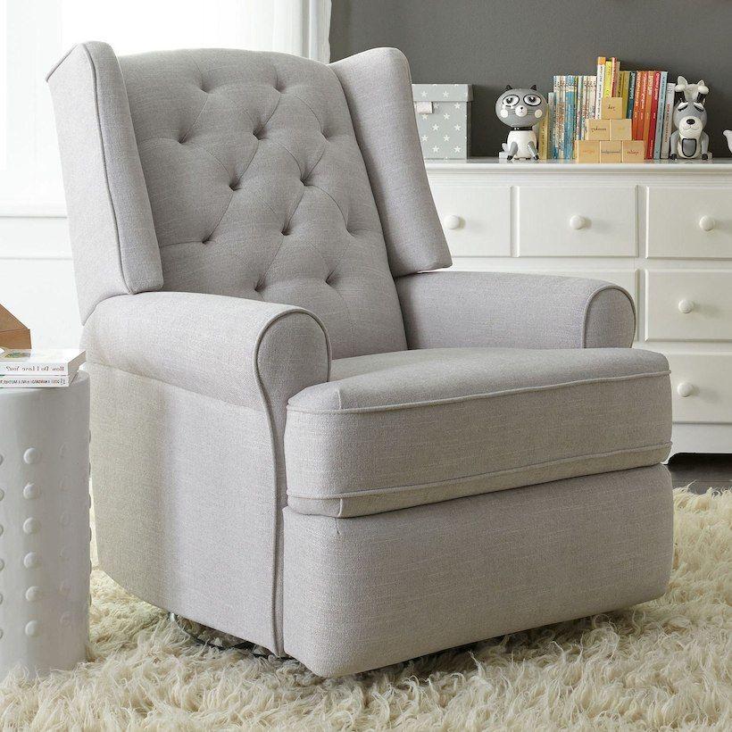 PURCHASED Swivel glider recliner, Rocking chair nursery