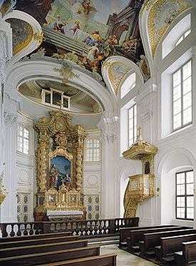 Nymphenburg Palace Interiors - Palace Chapel
