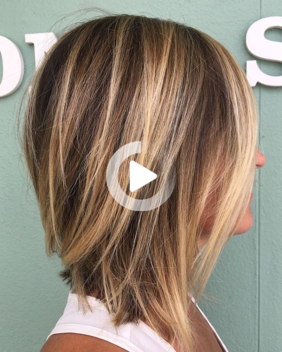 70 Longueur Moyenne Parfaite Coiffures Pour Cheveux Fins Coupe De Cheveux Coiffure Cheveux Fins Cheveux Courts Caramel