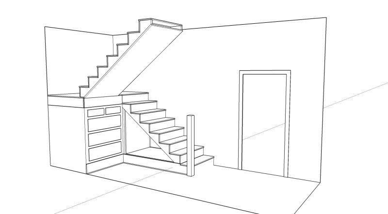 Basement Stair Designs Plans basement under stairs storage solutions plan layout, ikea under