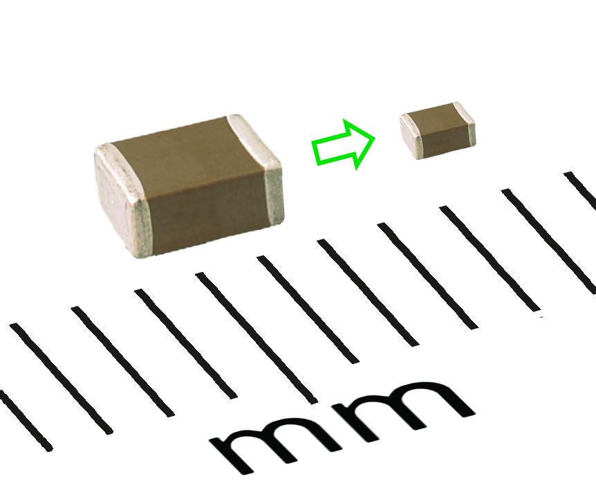 Exxelia Low Voltage Mlccs In 0402 Case Size Now In Esa Qpl European Passive Components Institute Case Types Of Ceramics Capacitors
