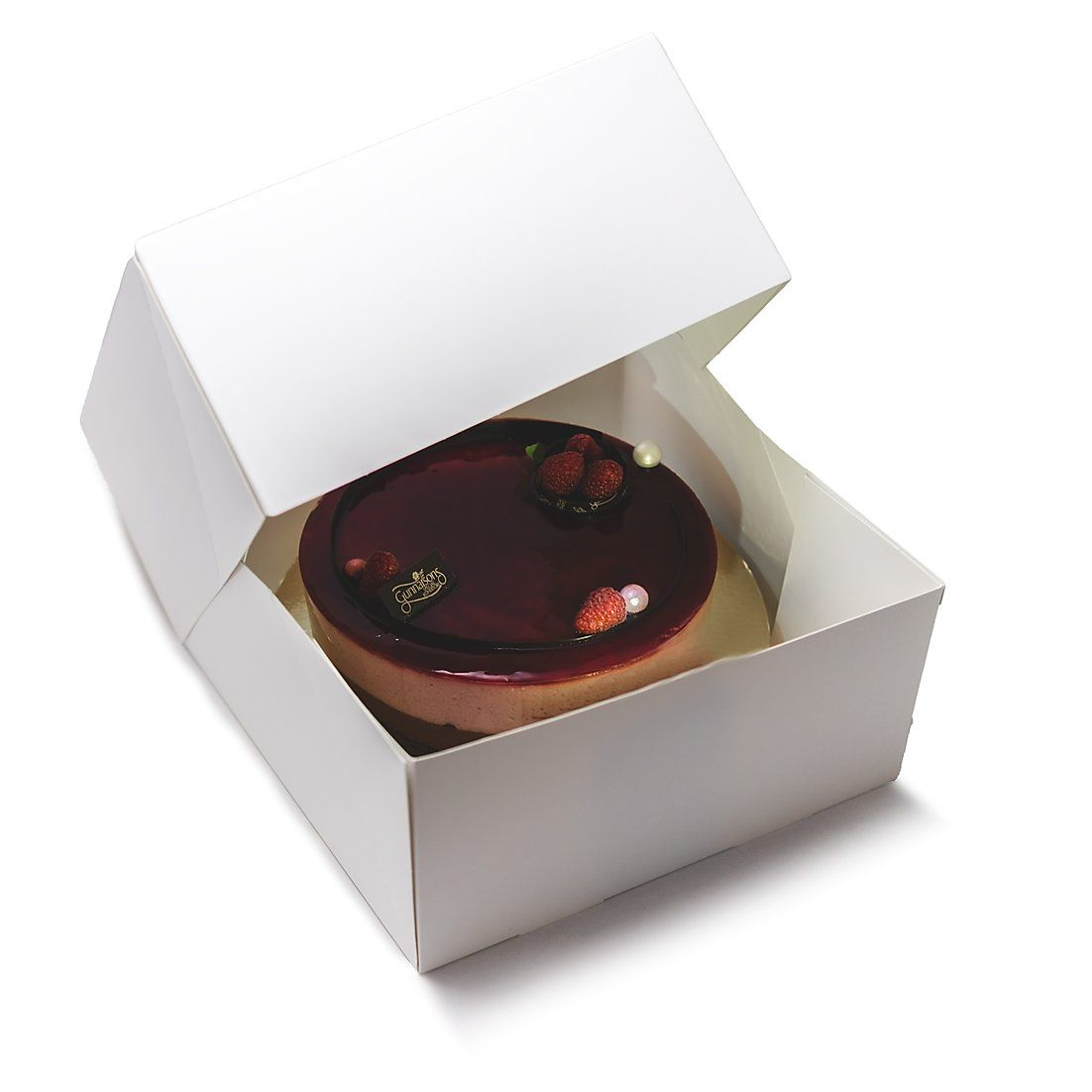 Cake Boxes 10x10x5 Pack Of 50 Cuisinerboxes In 2020 Dessert Containers Box Cake Cake Storage