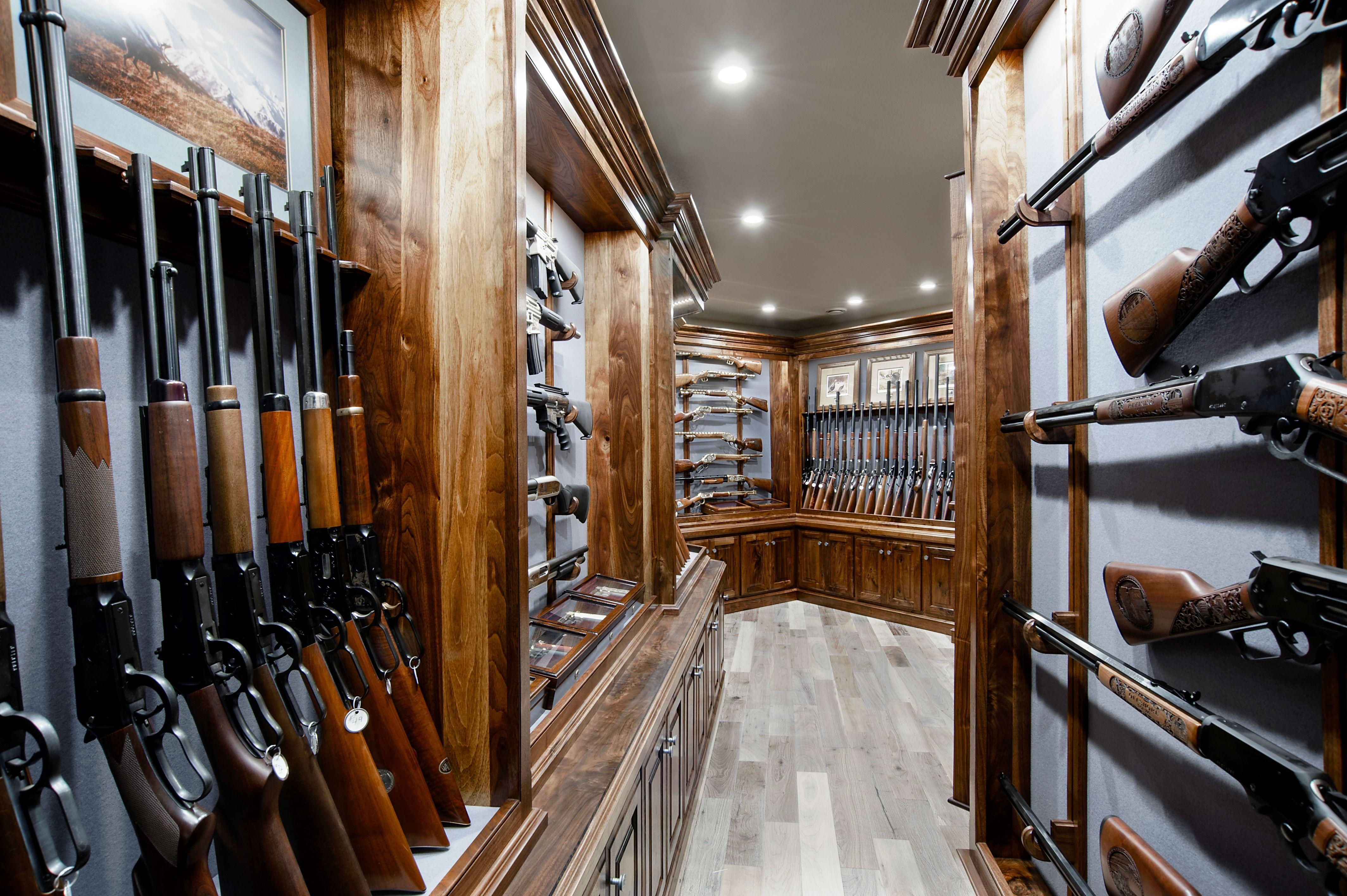 Amazing Gun Room By Julian Amp Sons Gun Trophy Rooms