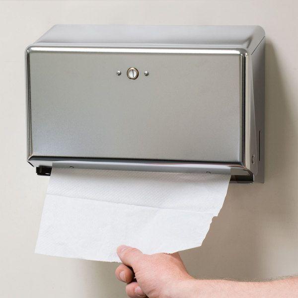 San Jamar T1950xc Chrome Mini C Fold Multi Fold Towel Dispenser