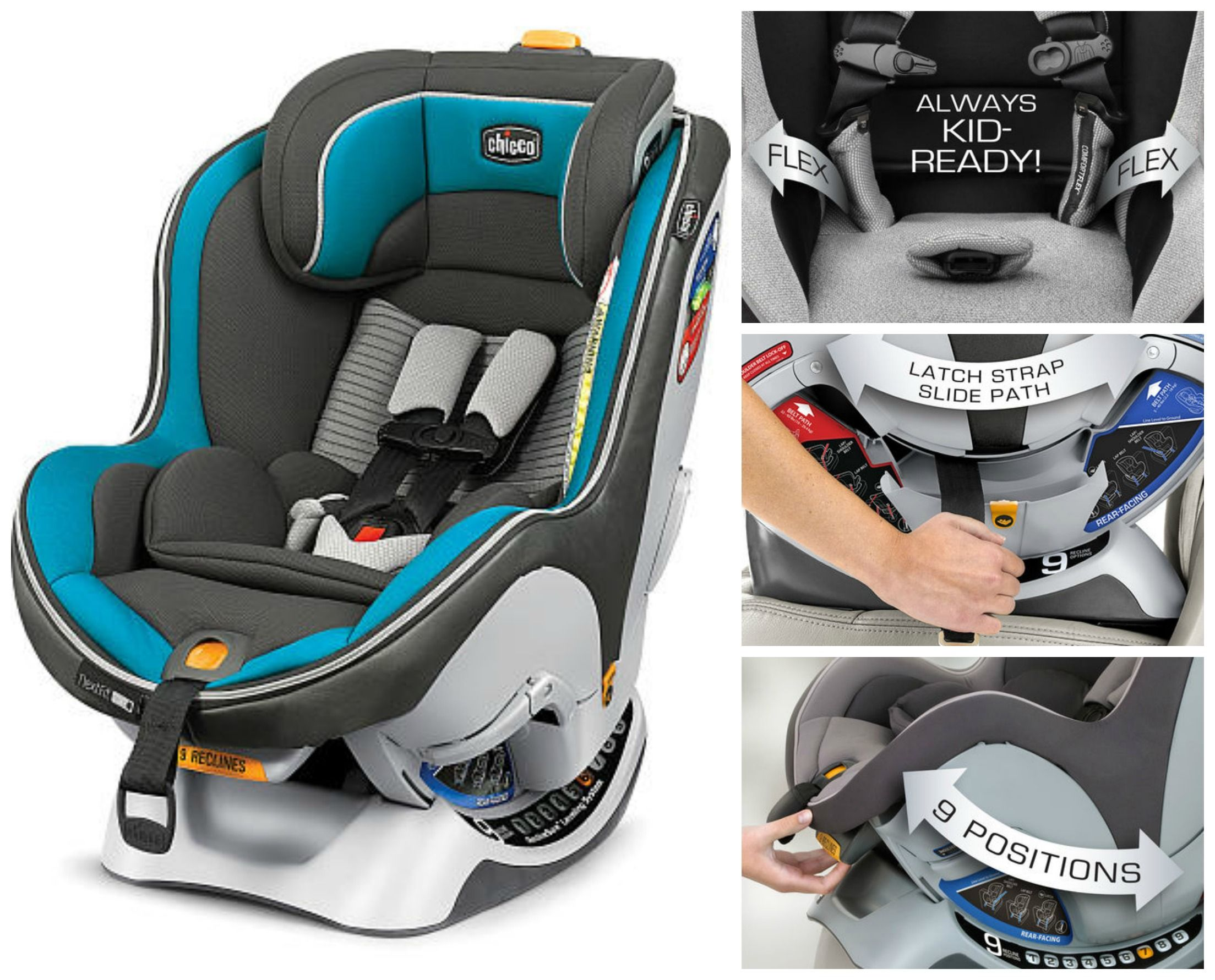 From Our Top 8 Best Convertible Car Seats This Is The Chicco NextFit Why